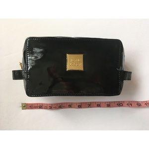 Herve Leger Bags - NEW Herve Leger Black Patent Cosmetic Makeup Bag